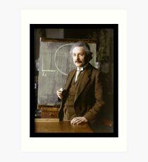 Lámina artística Albert Einstein, 1921