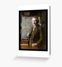 Albert Einstein, 1921 Greeting Card