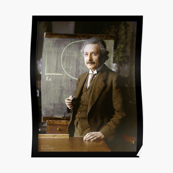 Albert Einstein, 1921 Póster