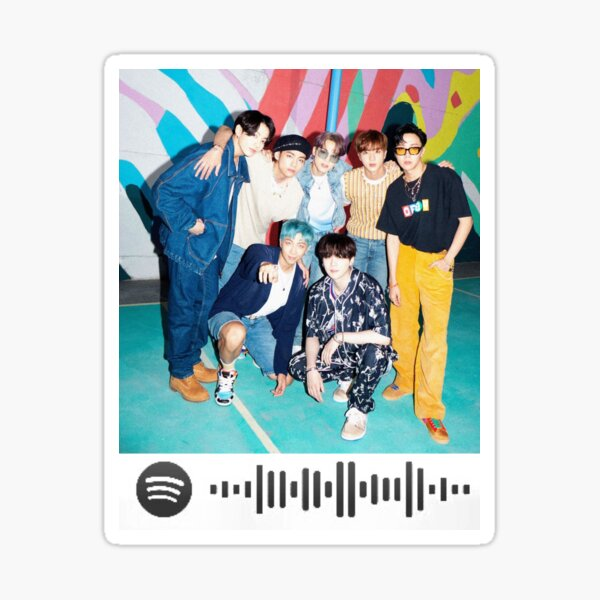 Bts Dynamite Spotify Code Gifts & Merchandise   Redbubble