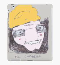 No comment iPad Case/Skin