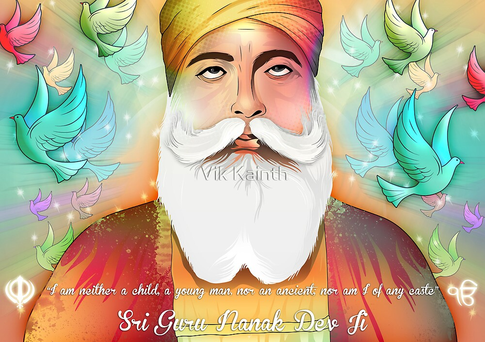 Sri Guru Nanak Dev Ji by Vik Kainth