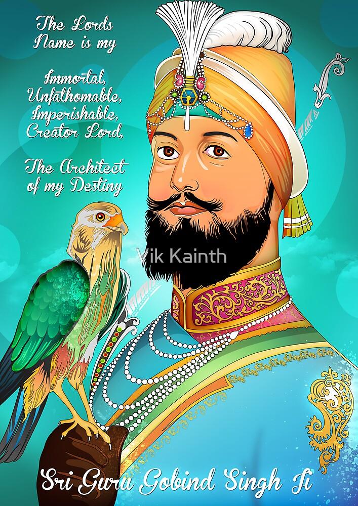 Guru Gobind Singh Ji by Vik Kainth