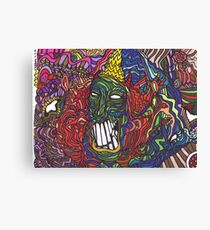 Things are getting weird Canvas Print