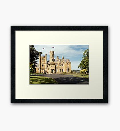Government House Tasmania Framed Print
