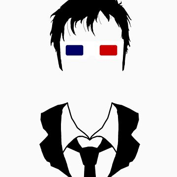 Tenth Doctor Silhouette by amobt