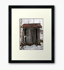 Function Framed Print