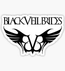 black veil brides band Sticker