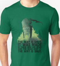 The way is shut. Slim Fit T-Shirt