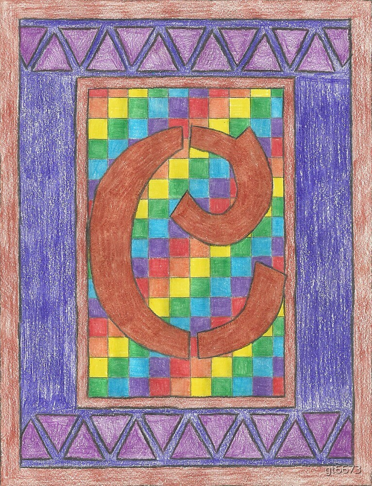 Monogram C - Pride by gt6673
