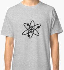 The Big Bang Theory Atom Logo 2 (in black) Classic T-Shirt