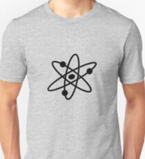 The Big Bang Theory Atom Logo 2 (in black) Unisex T-Shirt
