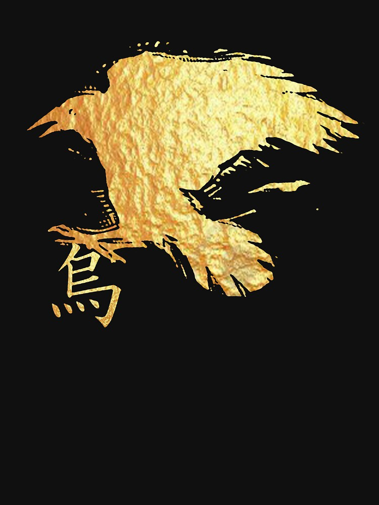 gold crow 2 by arteology