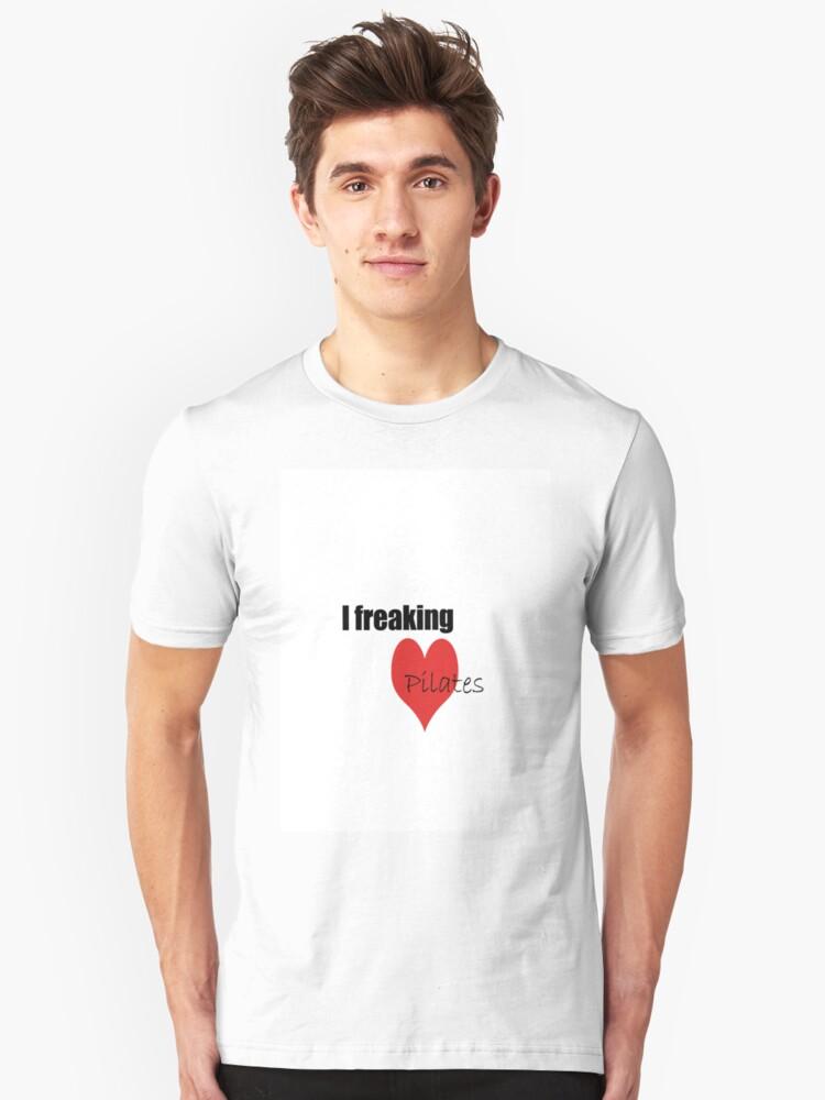 Pilates Love Unisex T-Shirt Front