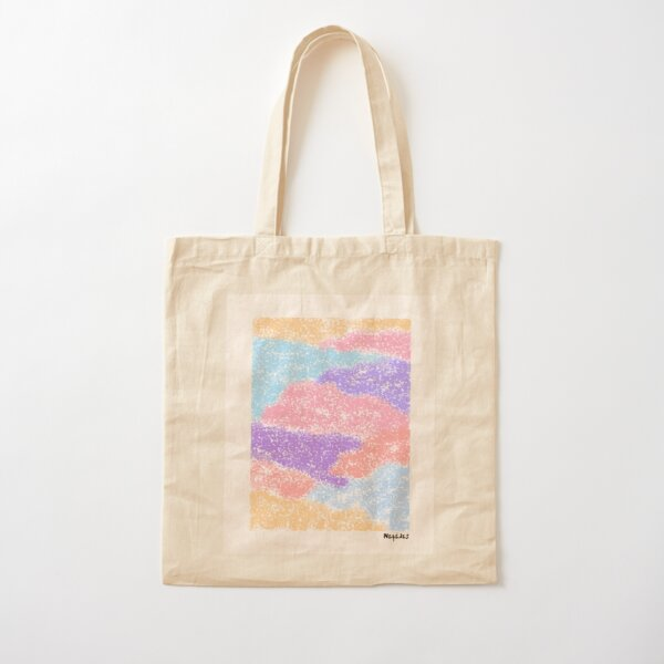 Abstract Clouds Cotton Tote Bag