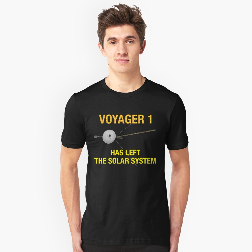 Voyager 1 Unisex T-Shirt Front