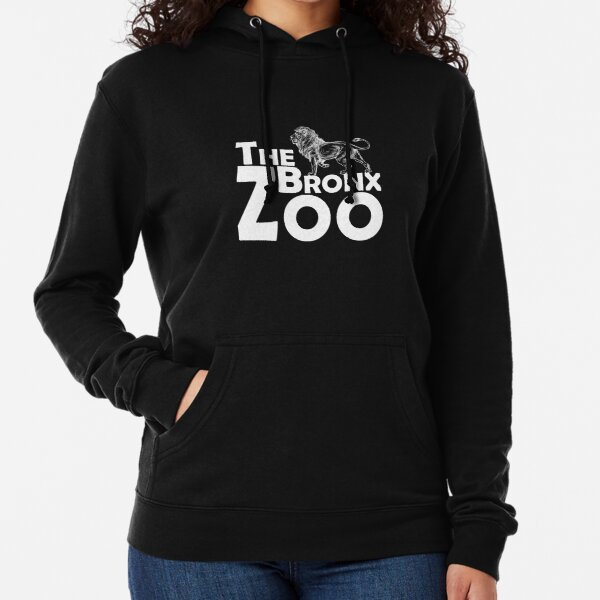 The Bronx Zoo Lion Animals New York City Lightweight Hoodie
