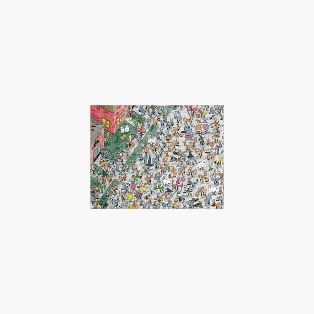Ant Halloween Jigsaw Puzzle
