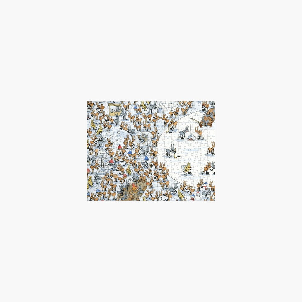 Ant Winter Jigsaw Puzzle