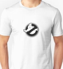 Original Ghostbusters Halftone Logo (in black and white) Unisex T-Shirt