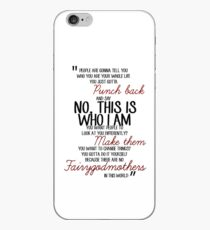 Once Upon a Time - Emma swan Quote iPhone Case