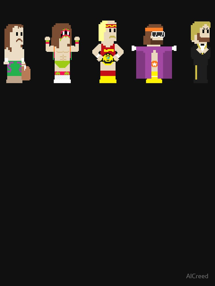 8-Bit Pro Wrestling by AlCreed