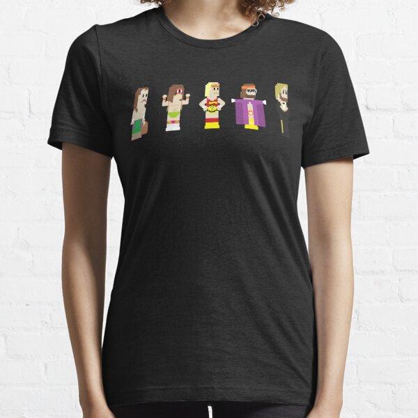 8-Bit Pro Wrestling Essential T-Shirt