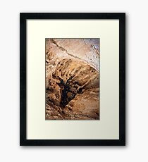 ET Phone Roswell Abstract Framed Print