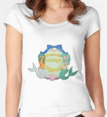 Mermaids Against Misogyny Women's Fitted Scoop T-Shirt