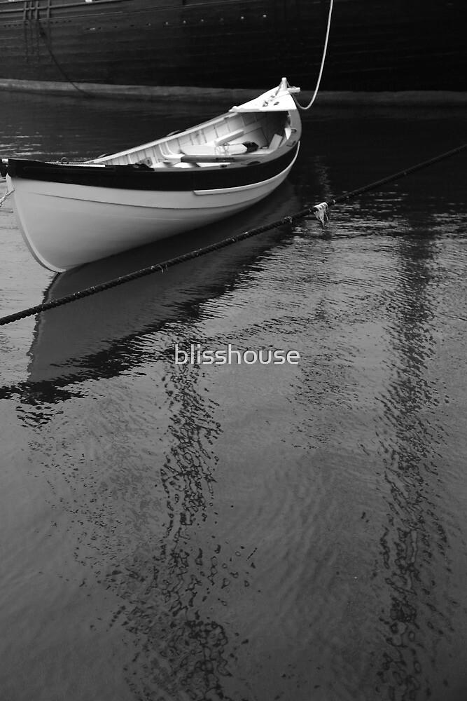 Mystic Rowboat by blisshouse