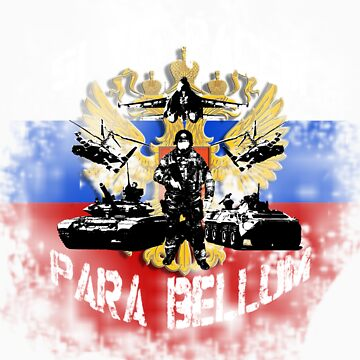 Si vis pacem para bellum russia w. white font by freshi85