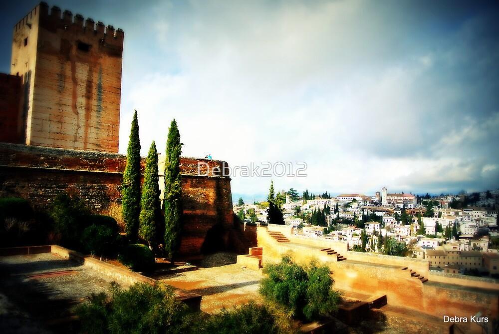 The beautiful Alhambra by Debrak2012