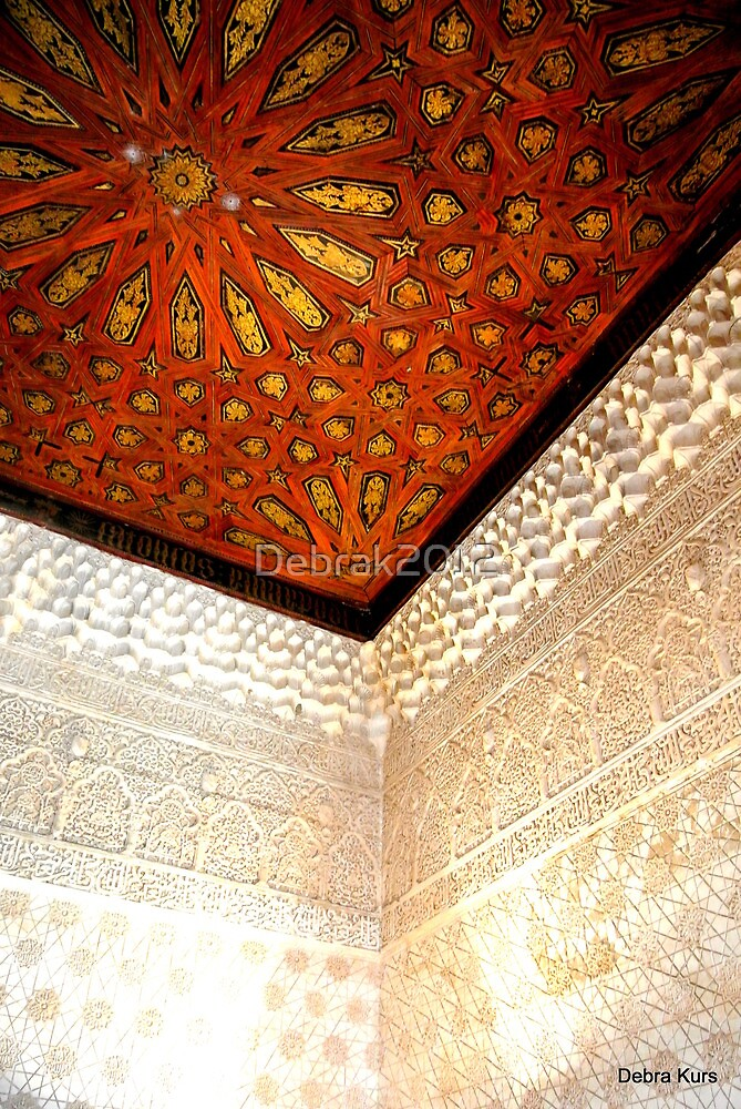 A beautiful cornice in the Alhambra by Debrak2012