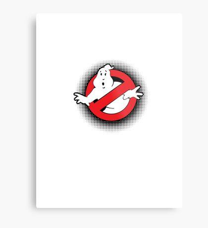 Original Ghostbusters Halftone Logo (in colour) Metal Print