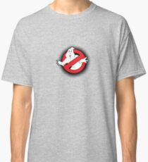 Original Ghostbusters Halftone Logo (in colour) Classic T-Shirt