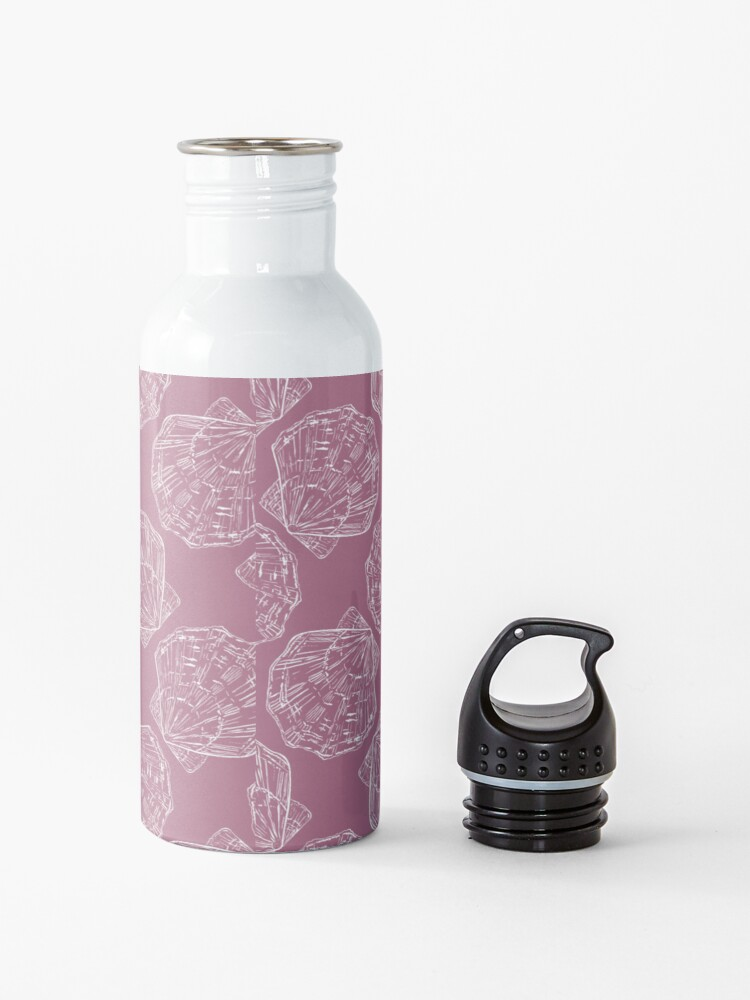 Alternate view of Pink seashell  Water Bottle