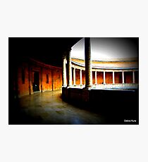 Beautiful curves in architecture  Photographic Print