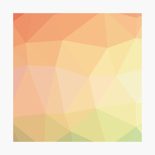 Digital Modern Abstract Colorful Art Design Photographic Print
