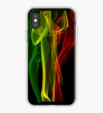 Rasta Smoke Phone Case (Vertical) iPhone Case