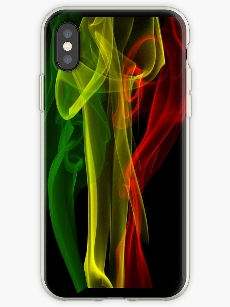 Rasta Smoke Phone Case (Vertical) by brnfrd