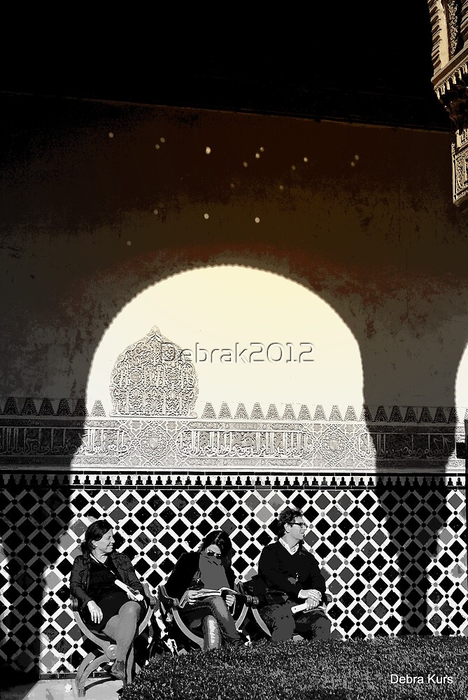 Tourists in the Alhambra  by Debrak2012