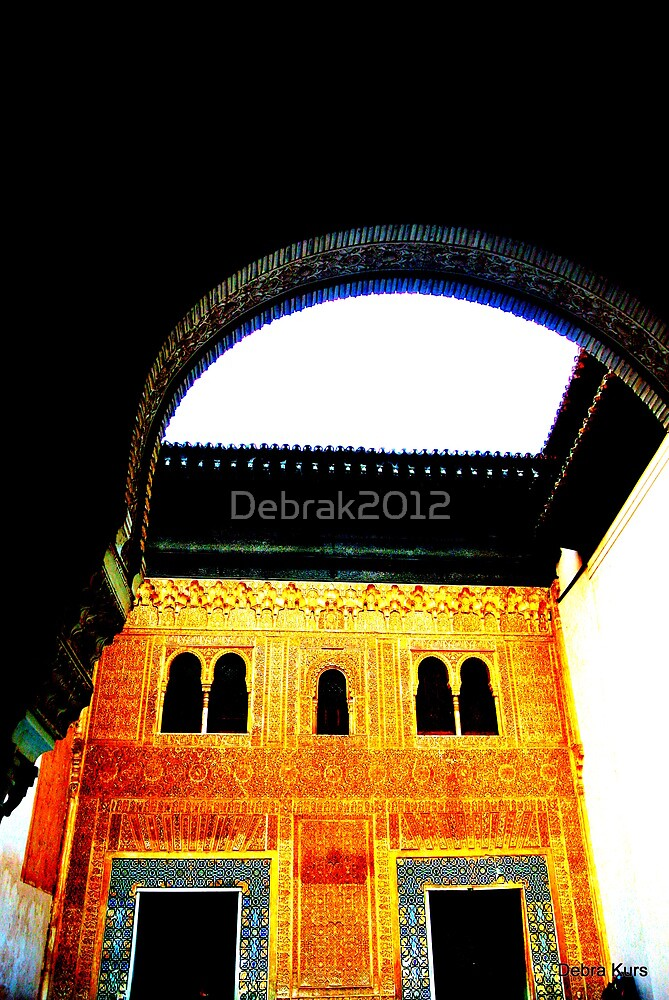 Alhambra door way and cornice by Debrak2012