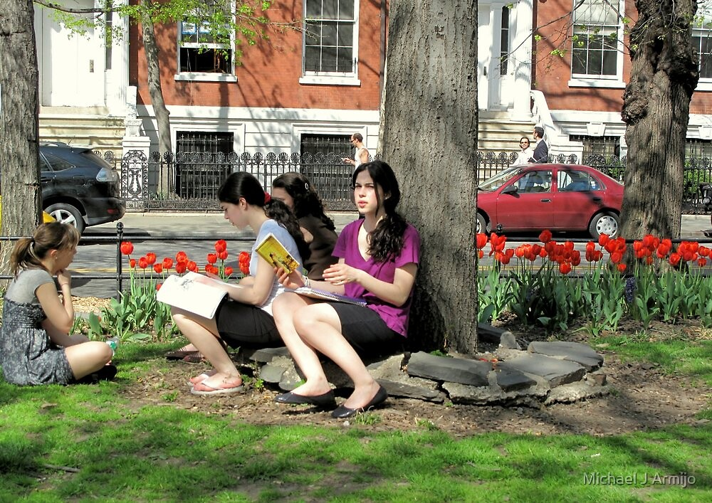 The Tulip Readers Club by Michael J Armijo