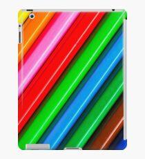 Diagonal Pencils iPad Case/Skin