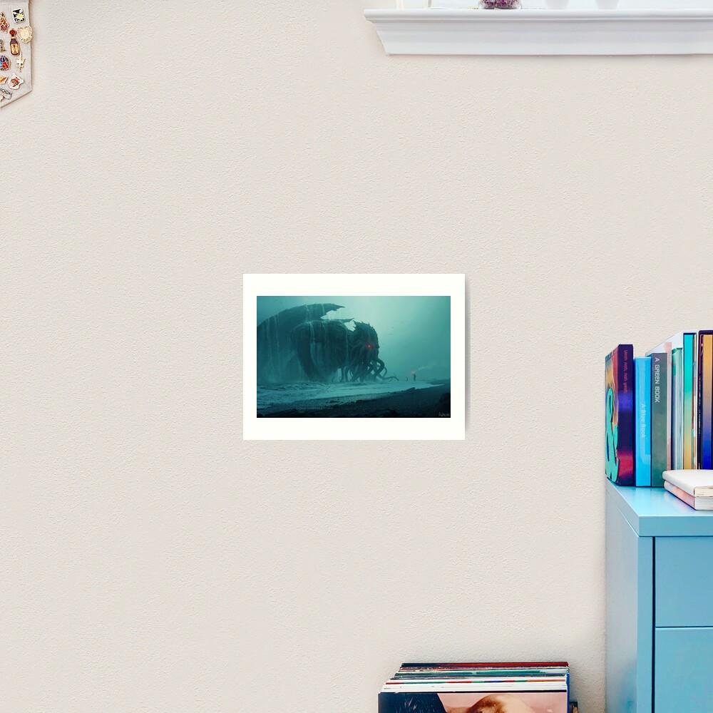 Cthulhu Awakens Art Print
