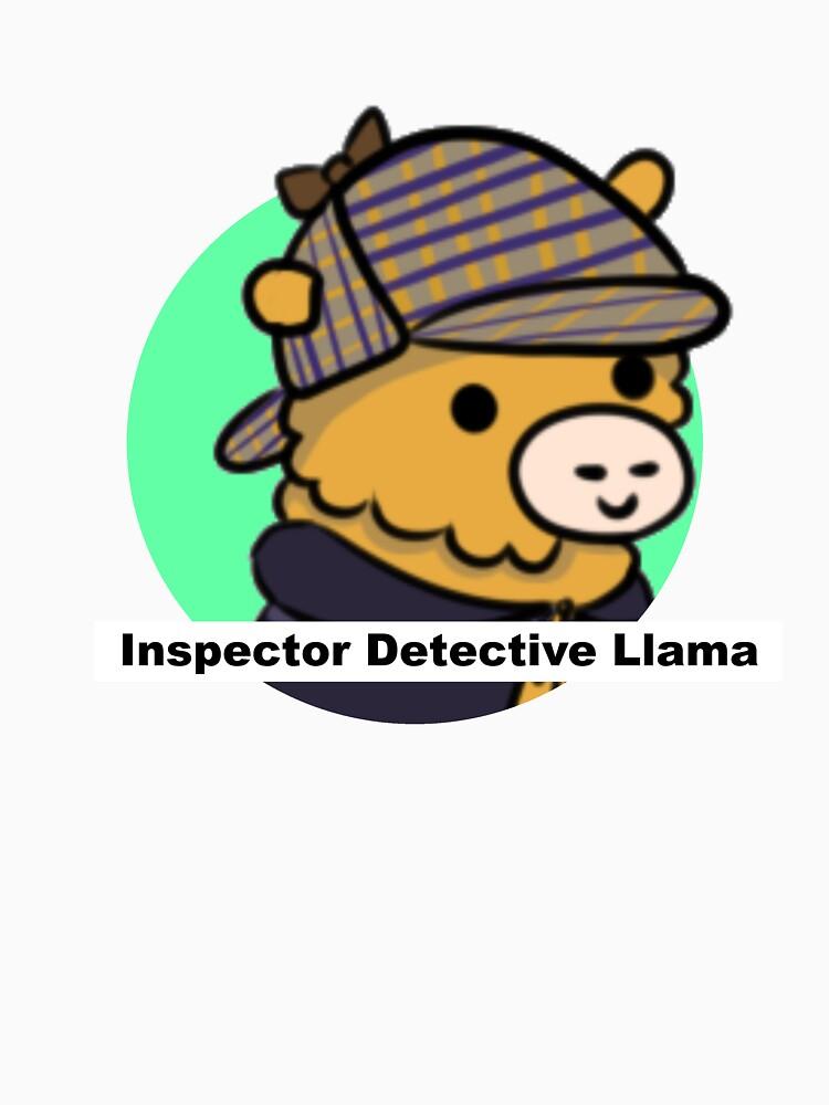 Inspector Detective Llama by Castropheonix