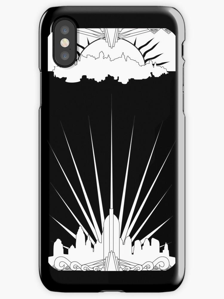 Bioshock iPhone case by SnowblindDesign