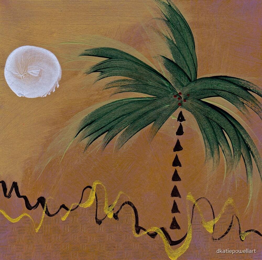 PALM MOON EARTH by dkatiepowellart