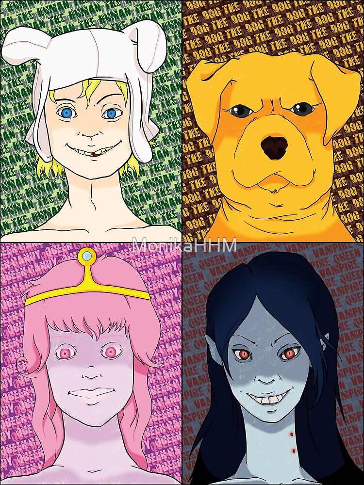 The Big Four by MonikaHHM