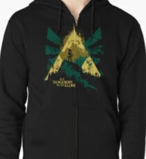 It's Dangerous To Go Alone Zipped Hoodie